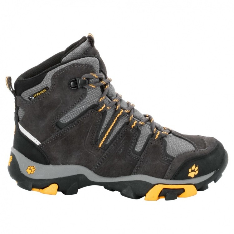 Jack Wolfskin Boys Mountain Attack Mid Texapore Jack Wolfskin Boys Mountain Attack Mid Texapore Farbe / color: burly yellow ()
