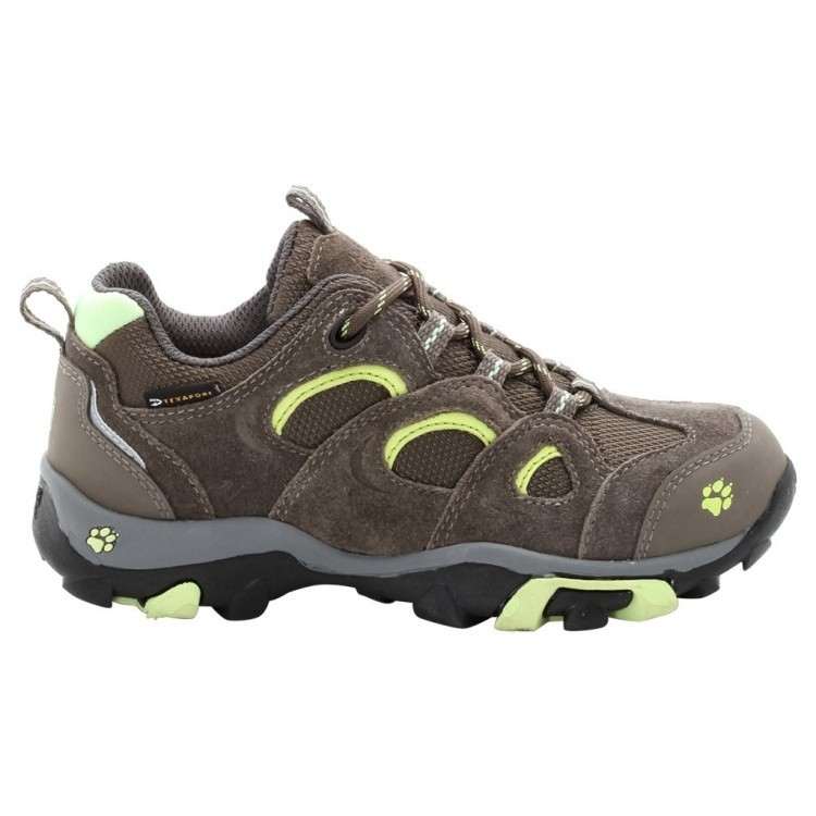 Jack Wolfskin Girls Mountain Attack Low Texapore Jack Wolfskin Girls Mountain Attack Low Texapore Farbe / color: green sorbet ()