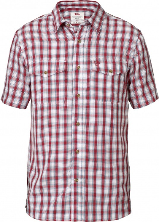Fjällräven Abisko Cool Shirt Short Sleeve Fjällräven Abisko Cool Shirt Short Sleeve Farbe / color: red ()