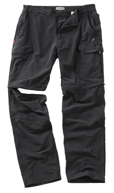 Craghoppers NosiLife Convertible Trousers Craghoppers NosiLife Convertible Trousers Farbe / color: black pepper ()