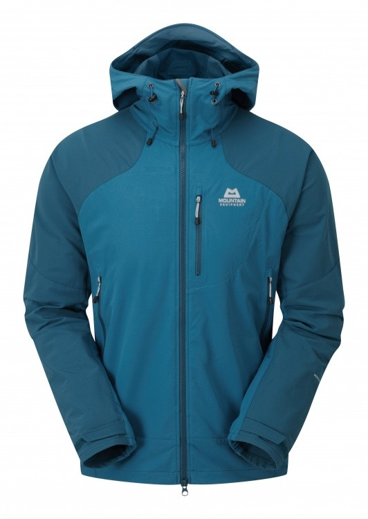 Mountain Equipment Frontier Hooded Jacket Mountain Equipment Frontier Hooded Jacket Farbe / color: ink blue/legion blue ()