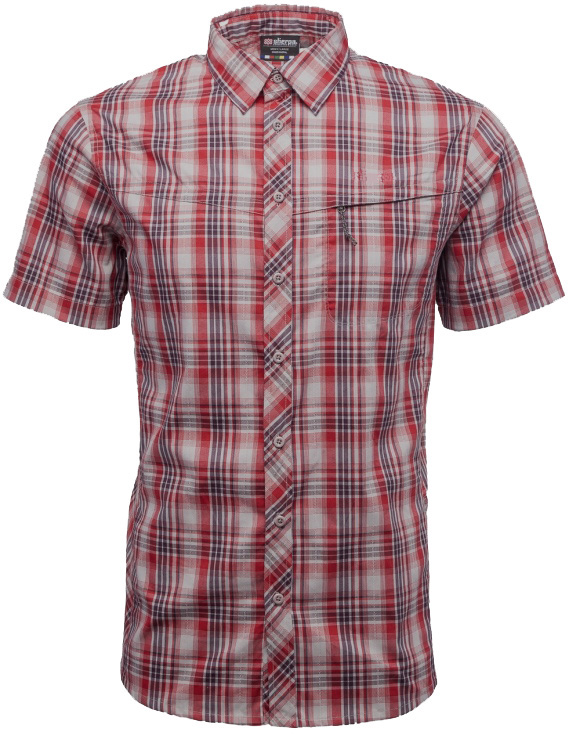 Sherpa Adventure Gear Terai Short Sleeve Shirt Sherpa Adventure Gear Terai Short Sleeve Shirt Farbe / color: lama red ()