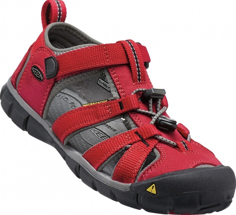 Keen Kids Seacamp II CNX Keen Kids Seacamp II CNX Farbe / color: racing red/gargoyle ()
