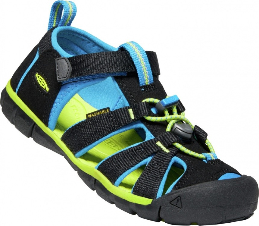 Keen Kids Seacamp II CNX Keen Kids Seacamp II CNX Farbe / color: black/brilliant blue ()