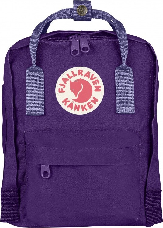 Fjällräven Kanken Mini Multicolor Fjällräven Kanken Mini Multicolor Farbe / color: purple/violet ()