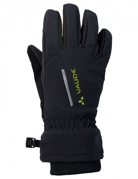 VAUDE Kids Softshell Gloves VAUDE Kids Softshell Gloves Farbe / color: black ()