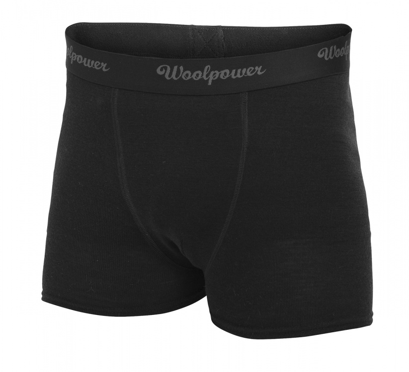 Woolpower Boxer Mens Lite Woolpower Boxer Mens Lite Farbe / color: black uni ()