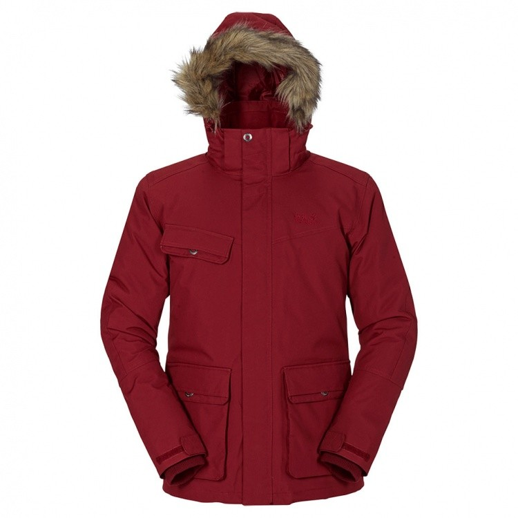 Jack Wolfskin Nova Scotia II Texapore Jacket Men Jack Wolfskin Nova Scotia II Texapore Jacket Men Farbe / color: dried tomato ()