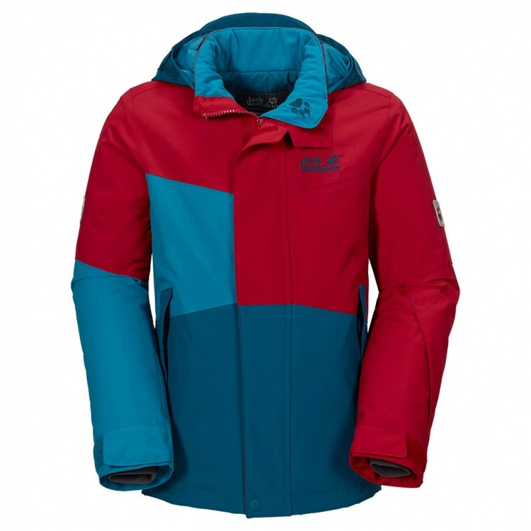 Jack Wolfskin Boys Snow Ride Insulated Jacket Jack Wolfskin Boys Snow Ride Insulated Jacket Farbe / color: indian red ()