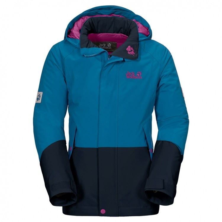 Jack Wolfskin Girls Snow Ride Insulated Jacket Jack Wolfskin Girls Snow Ride Insulated Jacket Farbe / color: dark turquoise ()