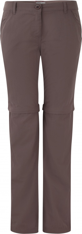 Craghoppers NosiLife Womens Zip-Off Trousers Craghoppers NosiLife Womens Zip-Off Trousers Farbe / color: cafe au lait ()