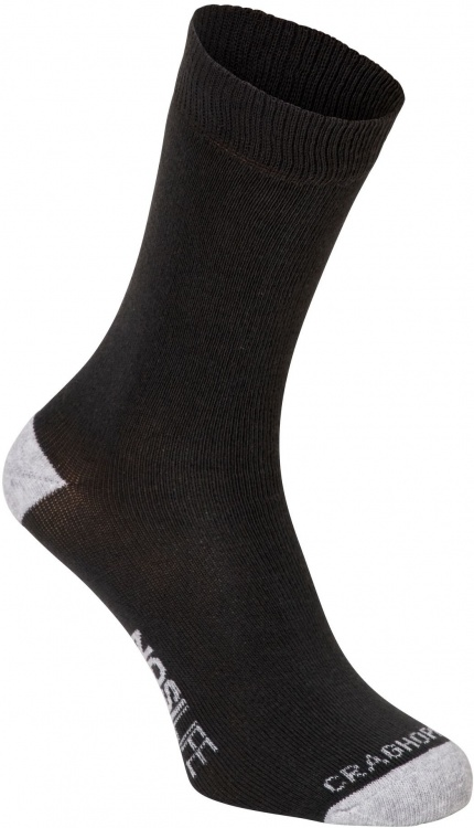 Craghoppers Single NosiLife Travel Sock Craghoppers Single NosiLife Travel Sock Farbe / color: charcoal/soft grey marl ()