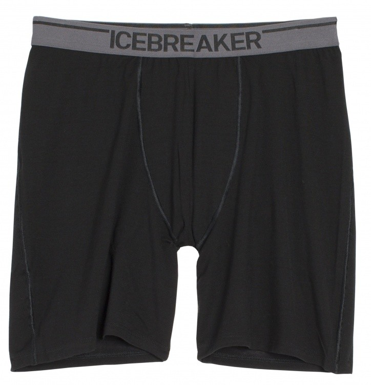 Icebreaker Anatomica Long Boxers Icebreaker Anatomica Long Boxers Farbe / color: black/monsoon ()