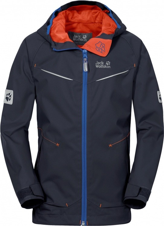 Jack Wolfskin Highland Jacket Boys Jack Wolfskin Highland Jacket Boys Farbe / color: night blue ()