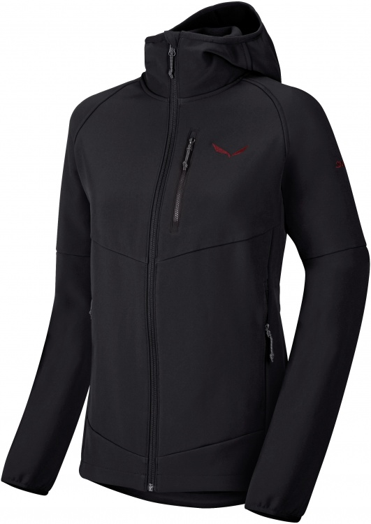 SALEWA Puez PL W Full-Zip Hoody SALEWA Puez PL W Full-Zip Hoody Farbe / color: black out ()
