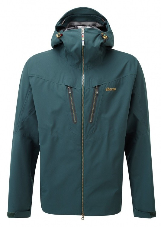 Sherpa Adventure Gear Lithang Jacket Sherpa Adventure Gear Lithang Jacket Farbe / color: taal/antique brass ()