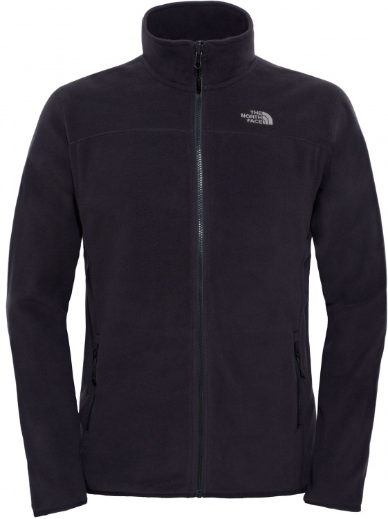 The North Face Mens 100 Glacier Full Zip The North Face Mens 100 Glacier Full Zip Farbe / color: tnf black ()