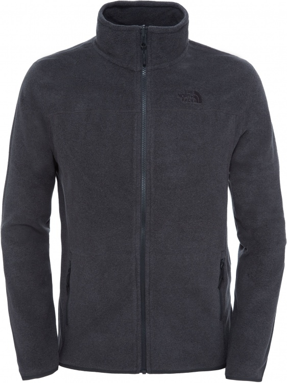 The North Face Mens 100 Glacier Full Zip The North Face Mens 100 Glacier Full Zip Farbe / color: tnf dark grey heather ()