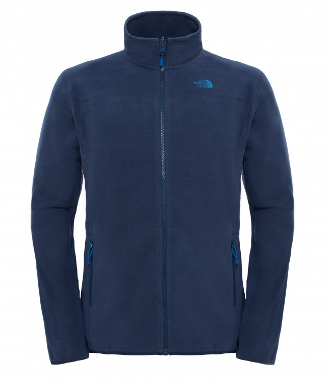 The North Face Mens 100 Glacier Full Zip The North Face Mens 100 Glacier Full Zip Farbe / color: urban navy ()