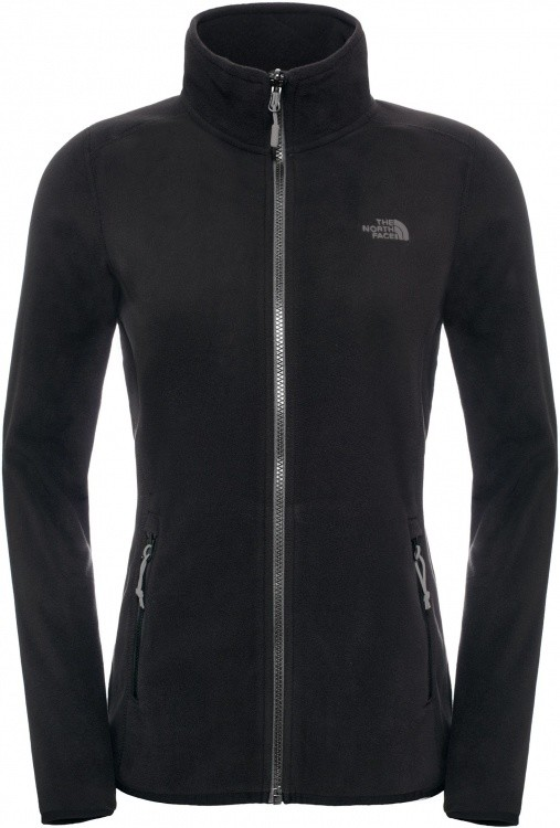 The North Face Womens 100 Glacier Full Zip The North Face Womens 100 Glacier Full Zip Farbe / color: tnf black ()