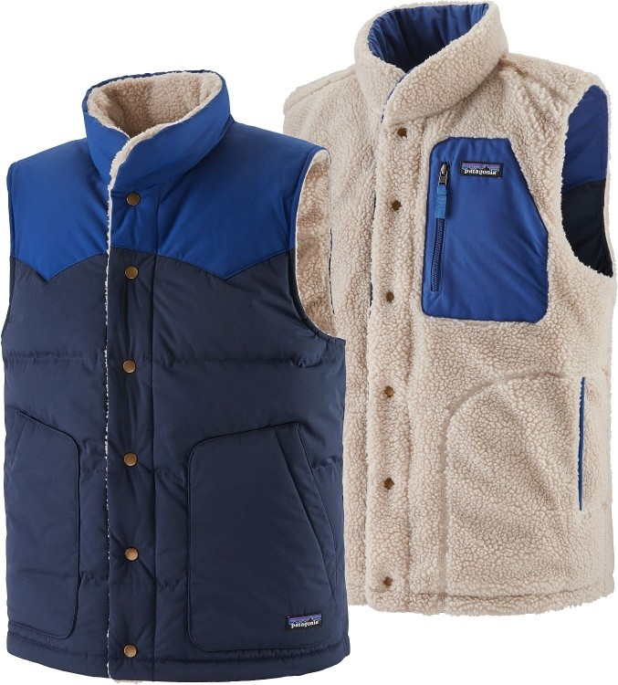 Patagonia Mens Reversible Bivy Down Vest Patagonia Mens Reversible Bivy Down Vest Farbe / color: new navy ()