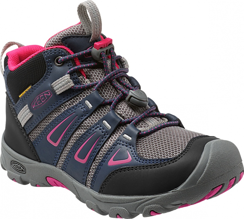 Keen Kids Oakridge Mid WP Keen Kids Oakridge Mid WP Farbe / color: dress blues/very berry ()
