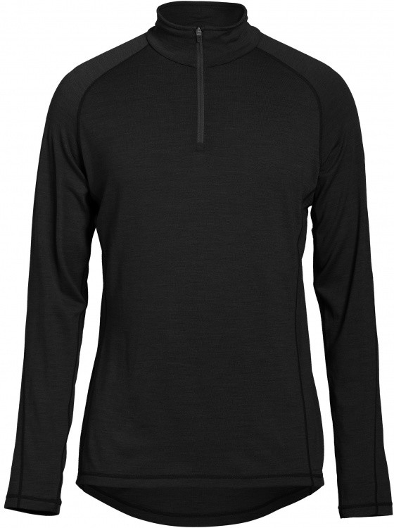 Super.Natural Mens Base 1/4 Zip 230 Super.Natural Mens Base 1/4 Zip 230 Farbe / color: caviar ()