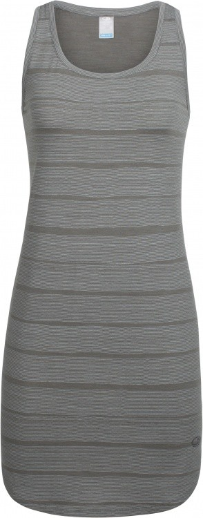 Icebreaker Yanni Tank Dress Stripe Women Icebreaker Yanni Tank Dress Stripe Women Farbe / color: metal/snow ()