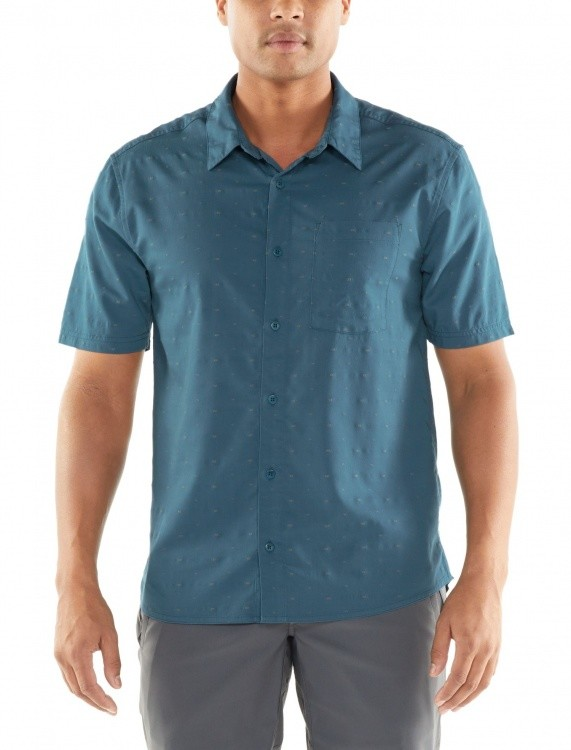 Icebreaker Compass SS Shirt Icebreaker Compass SS Shirt Farbe / color: thunder/timberwolf ()