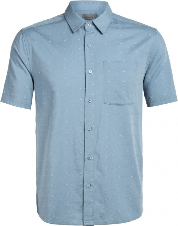 Icebreaker Compass SS Shirt Icebreaker Compass SS Shirt Farbe / color: dobby waterfall ()