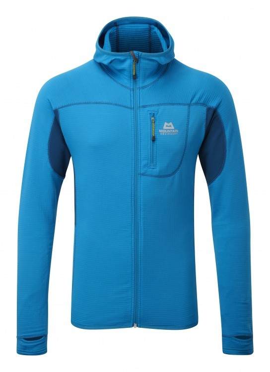 Mountain Equipment Eclipse Hooded Jacket Mountain Equipment Eclipse Hooded Jacket Farbe / color: lagoon blue/marine ()