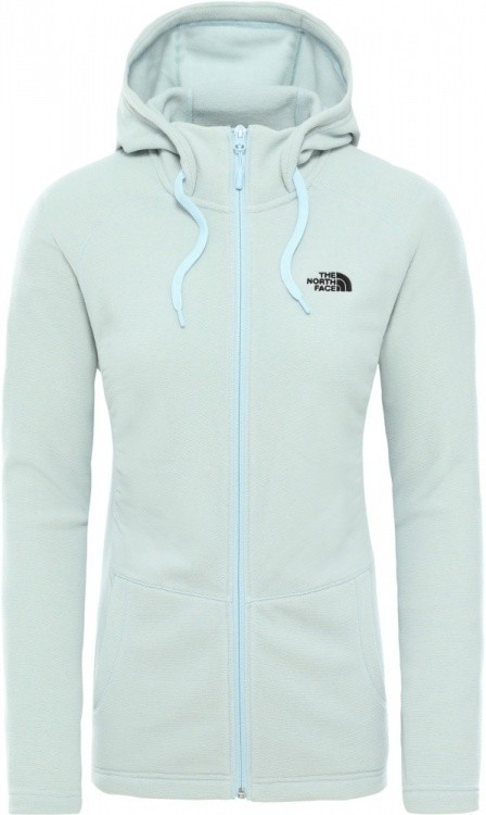 The North Face Womens Mezzaluna Full Zip Hoodie The North Face Womens Mezzaluna Full Zip Hoodie Farbe / color: angel falls blue stripe ()