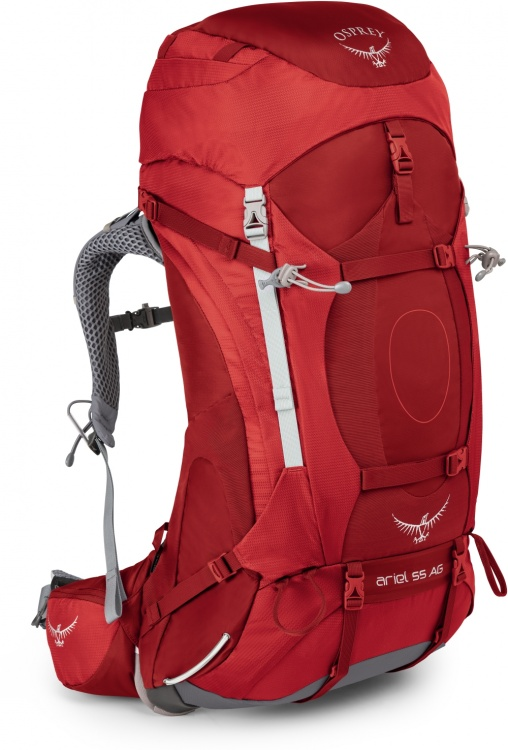 Osprey Ariel AG 55 Osprey Ariel AG 55 Farbe / color: picante red ()