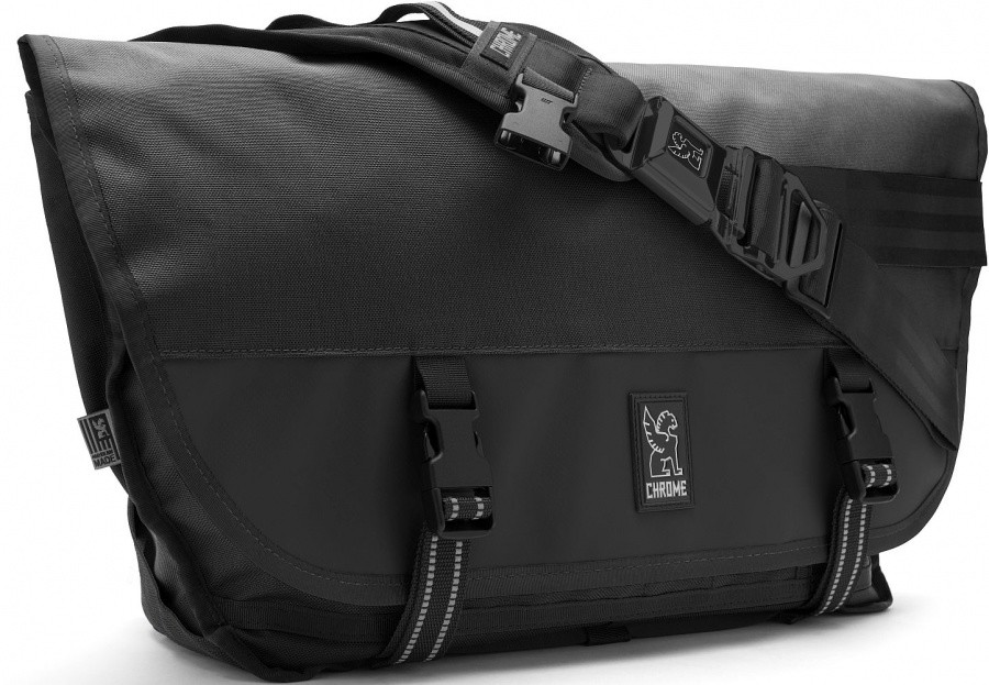 Chrome Citizen Messenger Bag Chrome Citizen Messenger Bag Farbe / color: all black ()