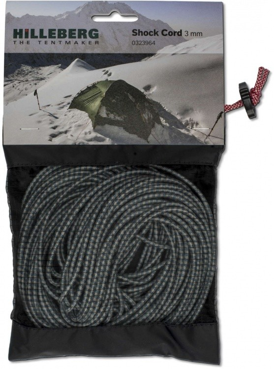 Hilleberg Shock Cord 3mm For Poles Hilleberg Shock Cord 3mm For Poles Gummiband / Shock Cord ()