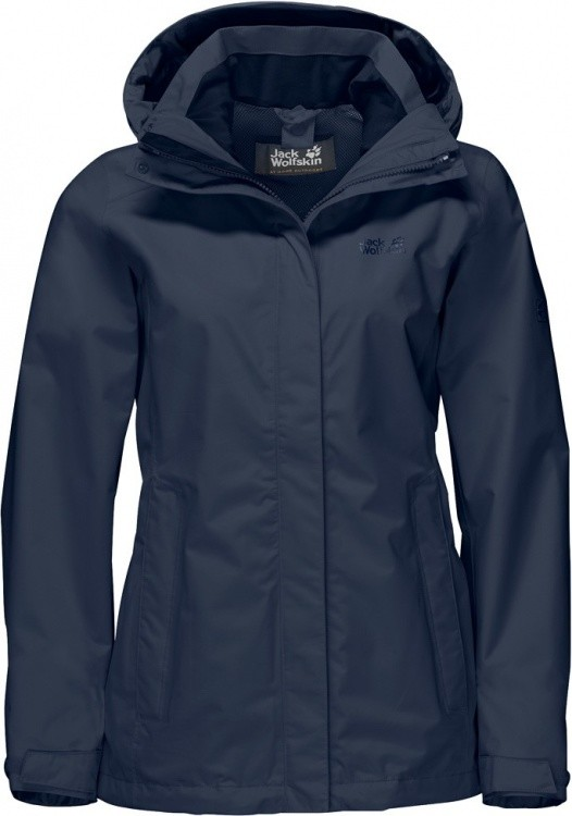 Jack Wolfskin Seven Lakes Jacket Women Jack Wolfskin Seven Lakes Jacket Women Farbe / color: midnight blue ()