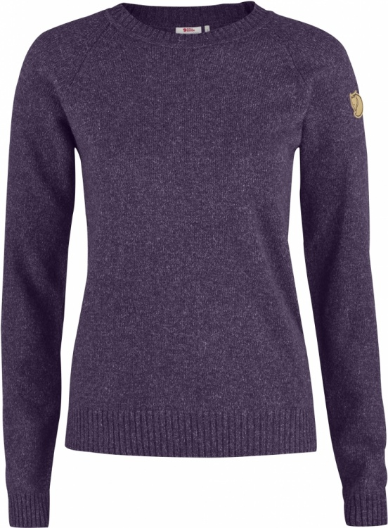 Fjällräven Övik Re-Wool Sweater Women Fjällräven Övik Re-Wool Sweater Women Farbe / color: alpine purple ()