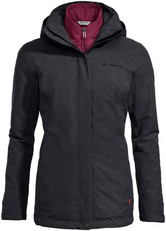 VAUDE Womens Caserina 3in1 Jacket VAUDE Womens Caserina 3in1 Jacket Farbe / color: black ()