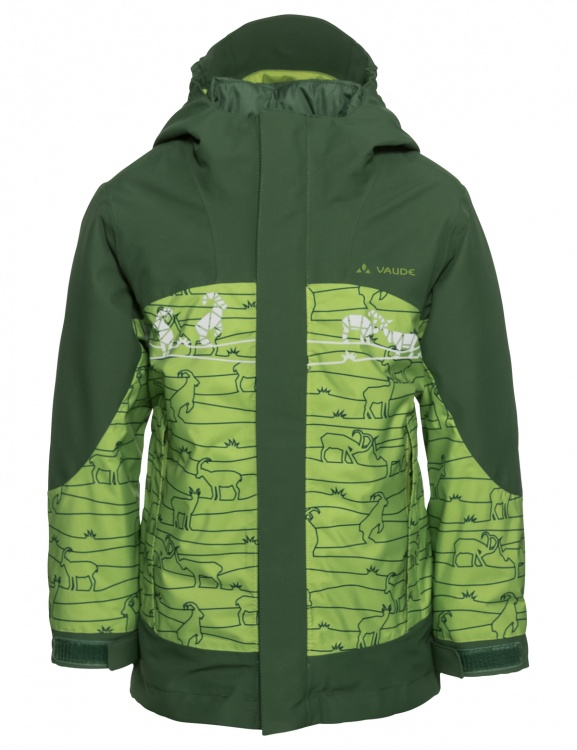 VAUDE Kids Suricate 3in1 Jacket III AOP VAUDE Kids Suricate 3in1 Jacket III AOP Farbe / color: green pepper ()