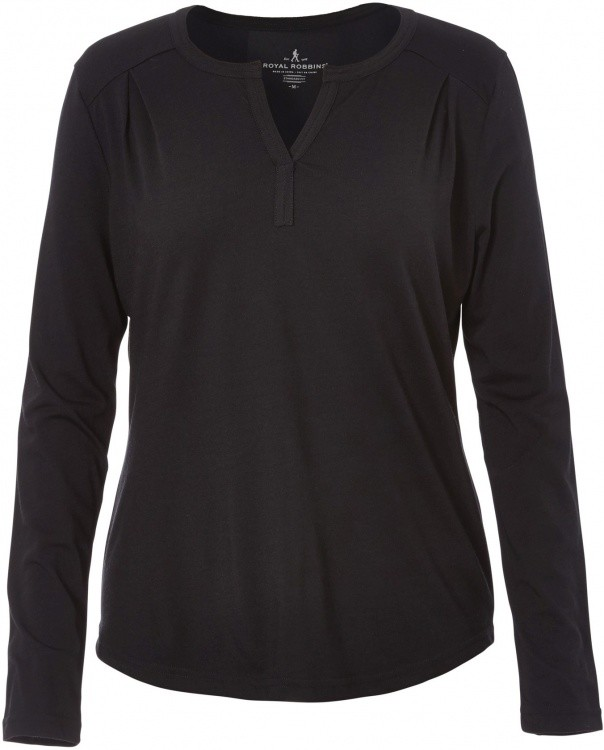 Royal Robbins Merinolux Henley Women Royal Robbins Merinolux Henley Women Farbe / color: jet black ()