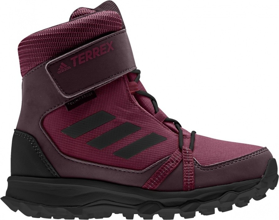 Adidas Terrex Snow CF CP CW Kids Adidas Terrex Snow CF CP CW Kids Farbe / color: mystery ruby/black/burgundy ()