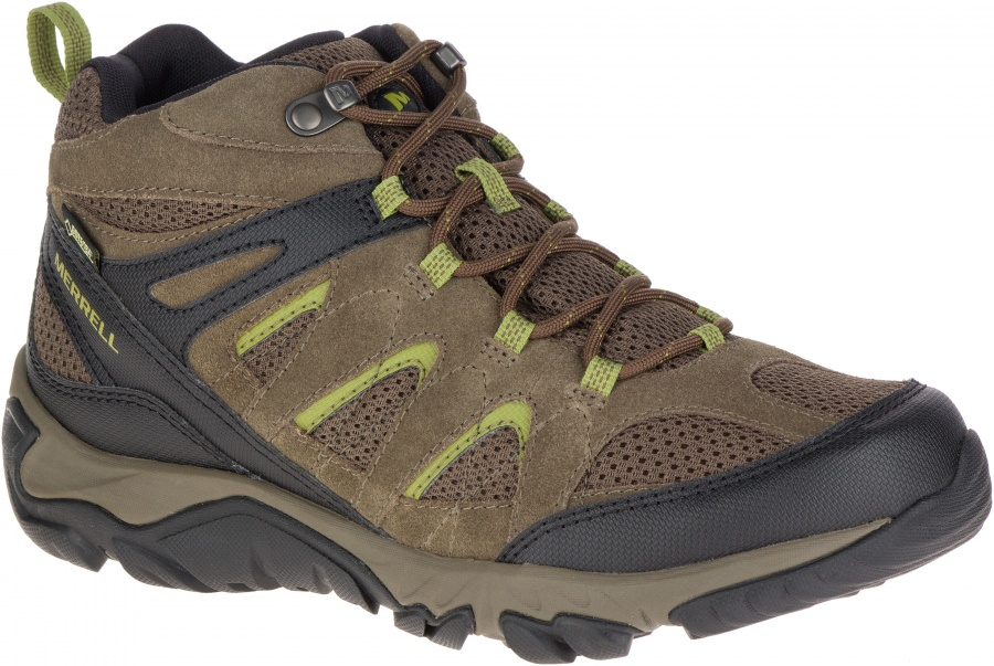 Merrell Outmost Mid Vent GTX Merrell Outmost Mid Vent GTX Farbe / color: boulder ()