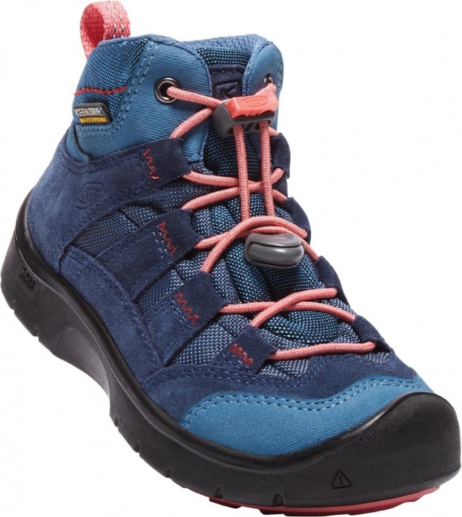 Keen Kids Hikeport Mid WP Keen Kids Hikeport Mid WP Farbe / color: dress blues/sugar coral ()