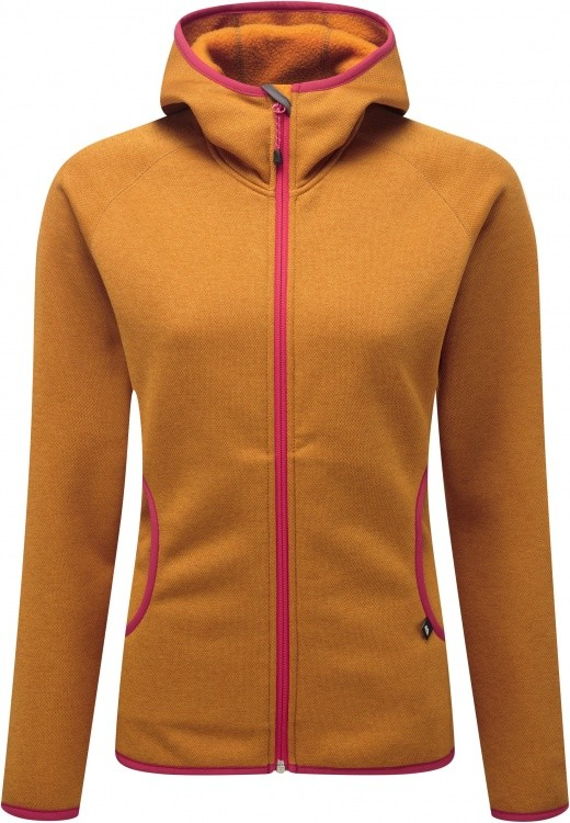 Mountain Equipment Lantern Hooded Jacket Womens Mountain Equipment Lantern Hooded Jacket Womens Farbe / color: marmalade ()
