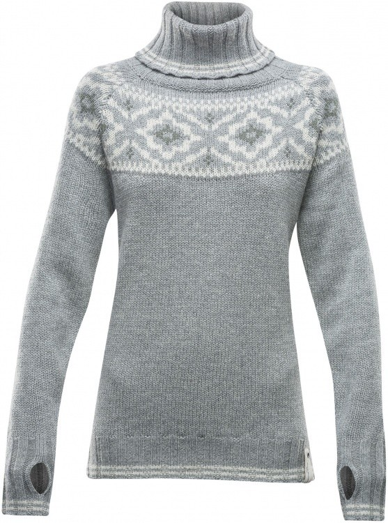 Devold Ona Woman Round Sweater Devold Ona Woman Round Sweater Farbe / color: grey melange ()