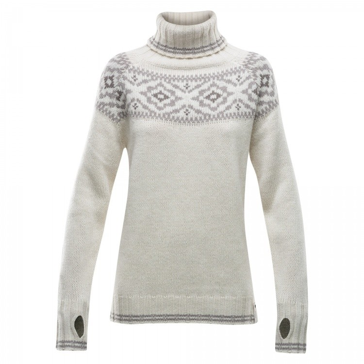 Devold Ona Woman Round Sweater Devold Ona Woman Round Sweater Farbe / color: offwhite ()
