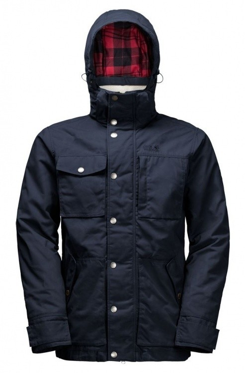 Jack Wolfskin Fort Nelson Jacket Jack Wolfskin Fort Nelson Jacket Farbe / color: night blue ()