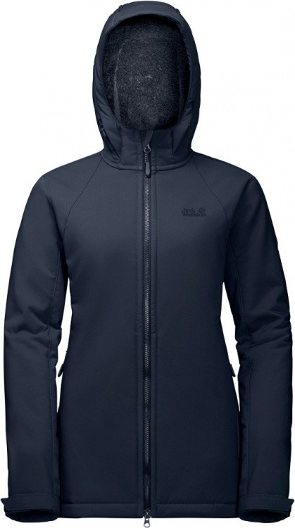 Jack Wolfskin Rock Valley Long Jacket Jack Wolfskin Rock Valley Long Jacket Farbe / color: midnight blue ()