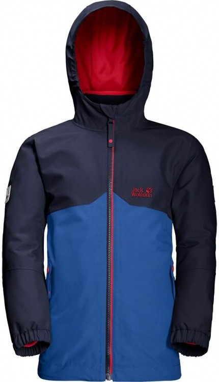 Jack Wolfskin Boys Iceland 3in1 Jacket Jack Wolfskin Boys Iceland 3in1 Jacket Farbe / color: coastal blue ()