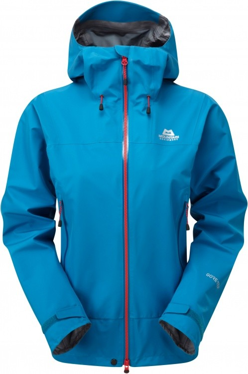 Mountain Equipment Quarrel Jacket Womens Mountain Equipment Quarrel Jacket Womens Farbe / color: lagoon blue ()